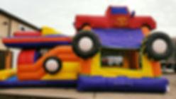 MOnster Truck Bounce Rental, Columbus, Oho
