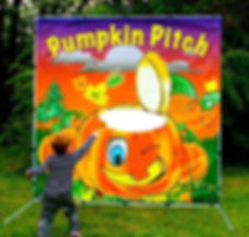 pumpkin carnival game rentals Columbus Ohio