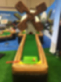 Inflatabel Golf - Putt Putt Rental Columbus Ohio