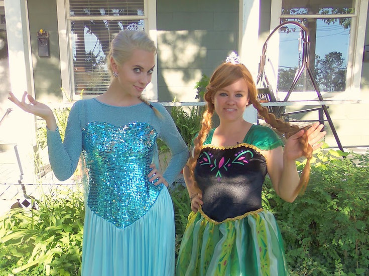Queen Elsa Frozen Princess Parties Columbus, Ohio - birthday party characters for hire, Columbus, Ohio princess parties OH
