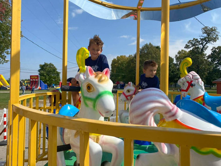 Create a Midway Atmosphere with Rides!