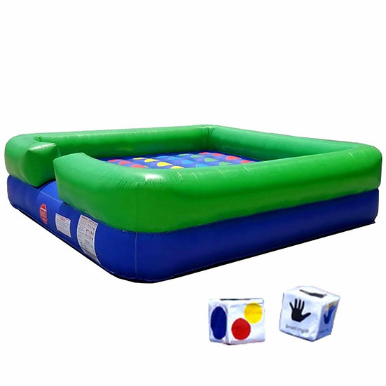 Inflatable Twister, Giant Inflatable Twister Game Rentals, Columbus, Ohio Inflatable Games, Event Rentals Ohio