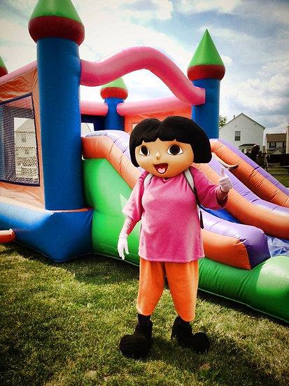 Columbus Ohio dora, Spanish explore party character - Columbus Ohio