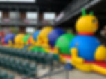 KiddieCaterpillar Crawl Obstacle Rentals Columbus Ohio