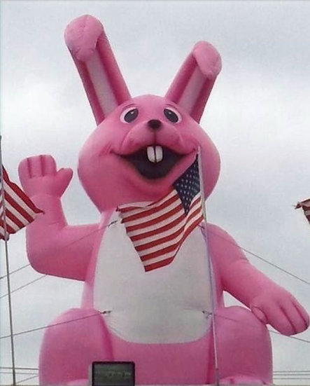 Columbus, Ohio Giant Inflatable Bunny for rent, Giant Inflatable Easter Bunny For rent Ohio