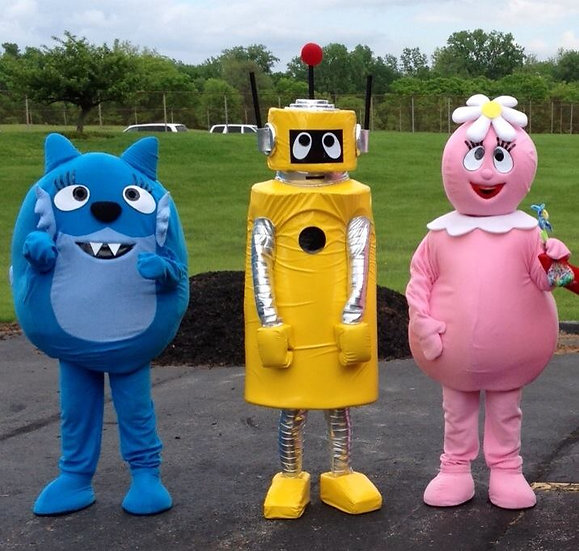 Yo Gabba Character Impersonators