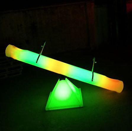 Columbus, Ohio LED SeeSaw rentals - Ohio Glow furniture rentals Columbus