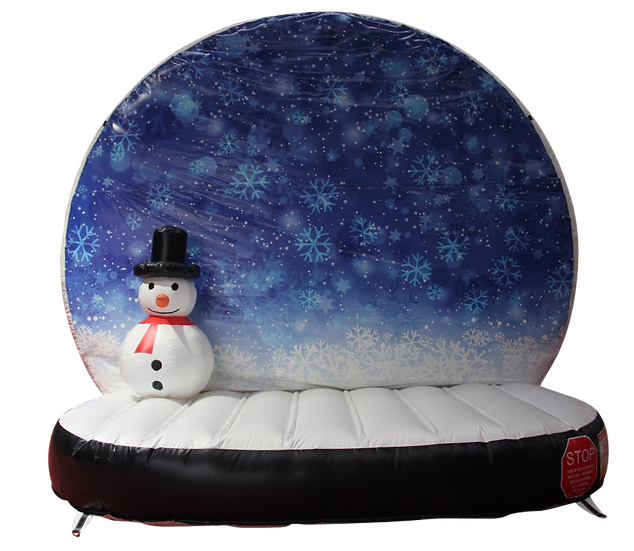 Giant Inflatable Snow Globe Rentals Columbus Ohio , Inflatable Snow globe Rentals Dayton Ohio