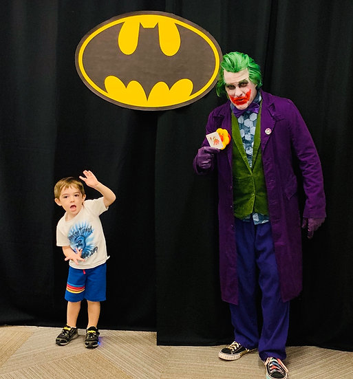 Ohio Joker appearances Villains for parties and events - Columbus Ohio
