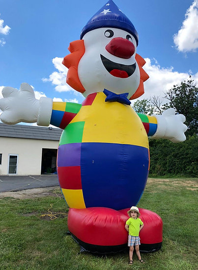 Clown Ohio Giant Inflatables for Rent - Advertisement inflatables for companies- promotion inflatables  Columbus, Ohio