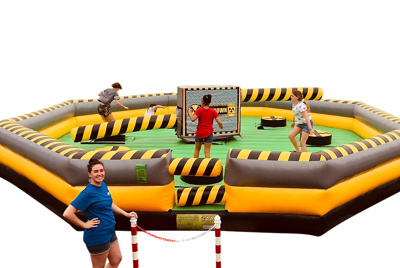 Columbus, Ohio Meltdown ride - Jumping carnival ride game - Columbus Ohio amusement ride rentals Ohio