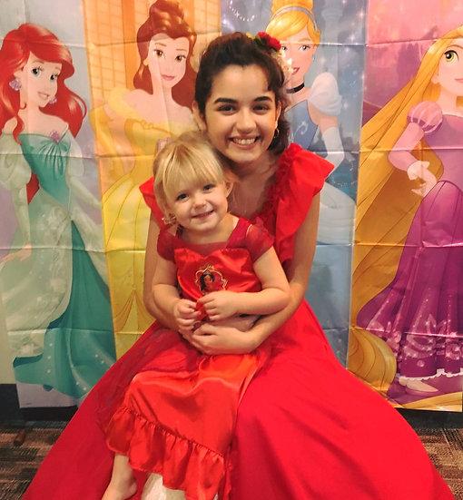 Elena princess for hire, Columbus, Ohio - birthday party princesses, Franklin County Ohio