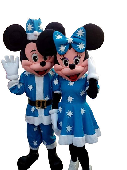 Bexley, Ohio Hanukkah Mickey & Minnie Holiday Characters Columbus Ohio