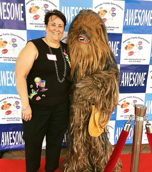 Star war characters impersonators for Hire Columbus, Ohio party characters for hire