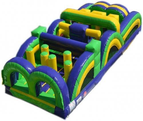Columbus, Ohio Fun Inflatable Obstacle Course Rentals  - School Field Day Rentals - Events Rentals  - Ninj Warrior Obstacles