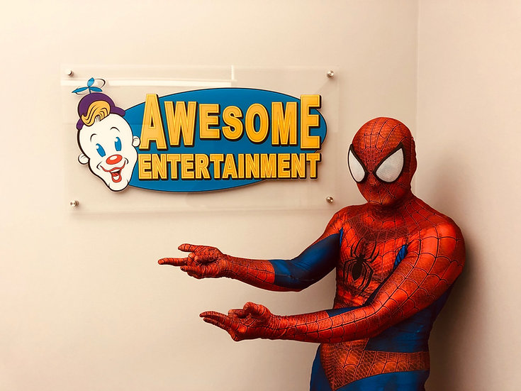 Columbus, Ohio Spiderman party and event appearances. Awesome Entertainment Ohio