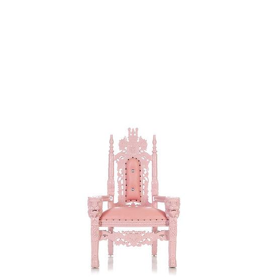 Cincinnati Ohio Kids Pink Royal Throne Chair  event furniture rentals Colubmus Ohio