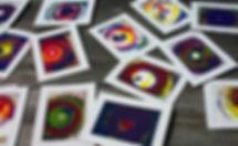 Spin Art examples Columbus Ohio