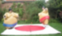 Sumo suits Columbus Ohio Event Rentals