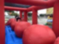 Inflatable Wipeout Game Rentals Columbus Ohio
