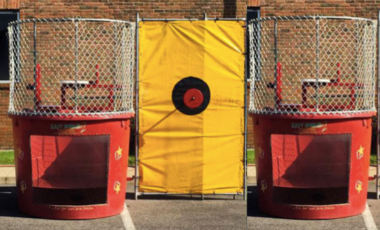 Double Dunk Tank Rentals Columbus Ohio Carnival Game Rentals Columbus OH