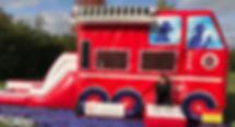 Firetruck Bounce House Rental Columbus Ohio