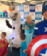 Queen Elsa Frozen Theme Party