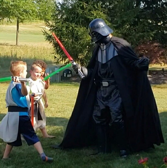Columbus, Ohio Darth Vader villain appearances - Columbus Ohio Star Wars  Characters for hire