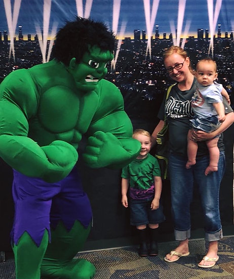 Ohio Incredible Hulk for hire - Party & event appearances for costume characters Columbus