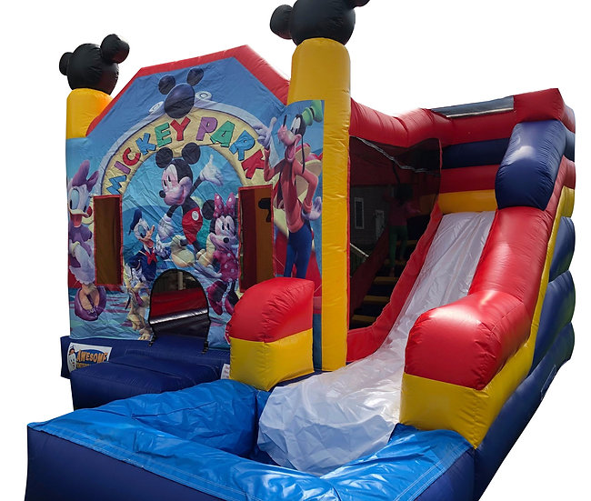 Columbus, Ohio Mickey Mouse Club House Bounce House Rentals