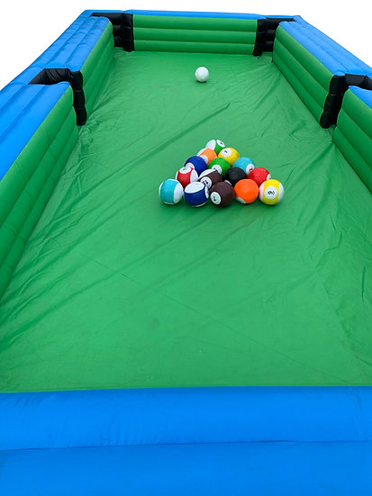 Human Billiard Game Rentals, Inflatable Game Rentals Columbus Ohio Inflatable Pool Game Rentals - Graduation Party Rentals OH