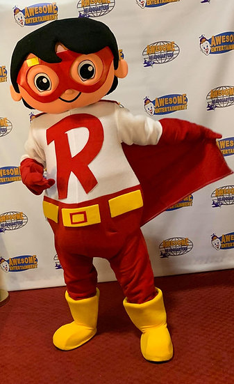Columbus Ohio Ryan's world party character for hire, Columbus Ohio Mascot characters for rent