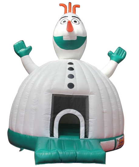 Columbus OH Snowman bounce house rentals Ohio bouncers