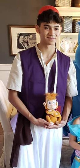 Aladdin Fairytale Prince Character Columbus, Ohio birthday party characters for events and celebrations