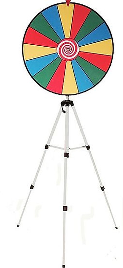 Prize wheel Rentals - Spinning Wheel Game Rentals - Colubmus Ohio