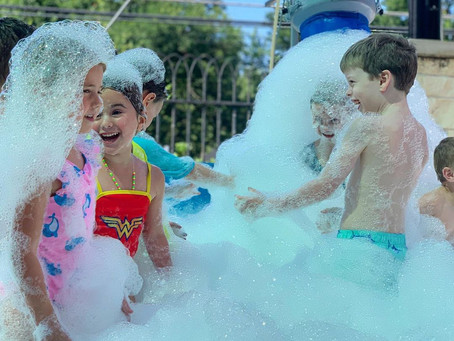 """Have a """"Foamtastic"""" Experience Covered in Suds!"""