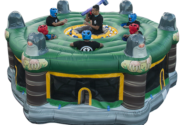 Columbus, Ohio Human Wack A mole game rentals - Adult Inflatable Rentals - Ohio, Employee Morale Games, Team building game OH