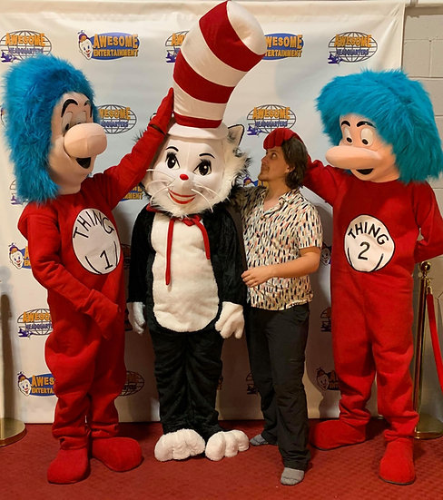 Columbus Ohio birthday party characters for hire, Athens Ohio party rentals