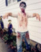 zombie characters Columbus Ohio parties