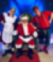 Santa Scene Prop Rentals Ohio
