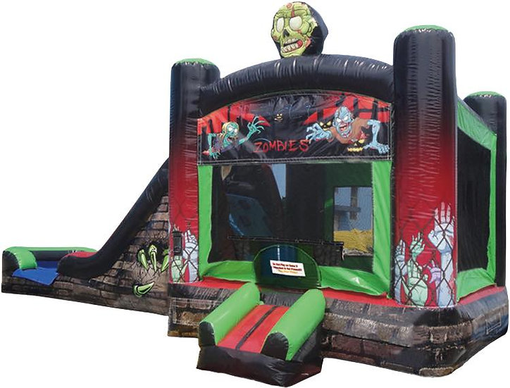 Zombie Themed Bounce House Rentals, Columbus Oho Teenager Bounce House Rentals