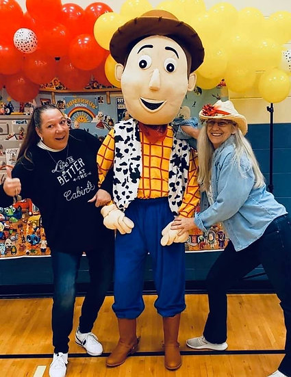 Columbus Ohio Toy Story Characters for hire - Columbus Ohio Woody party character for hire