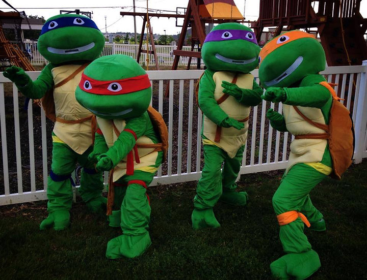 Ninja Turtle Impersonators