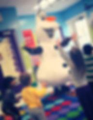 Olaf The Snowman Theme Parties