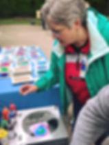 Spin Art Activities Columbus Ohio
