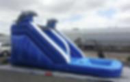 Dolphin Theme Inflatable Water Slide Columbus Ohio