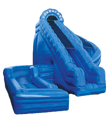 Inflatable Water Slide Rentals Columbus Ohio Giant Slide Rentals, Corkscrew Slide rentals