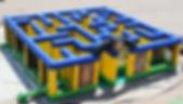 Giant Inflatabel Maze, Corn Maze Rentals, Columbus Ohio Treasure Maze Rentals Central Ohio