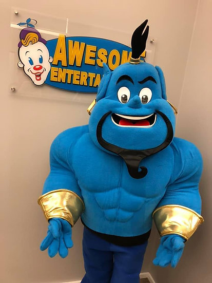Aladdin Genie for Columbus, Ohio Parties and events - Cartoon Characters for hire, Columbus OH