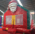 Santa Claus bounce house rental - Columbus Ohio